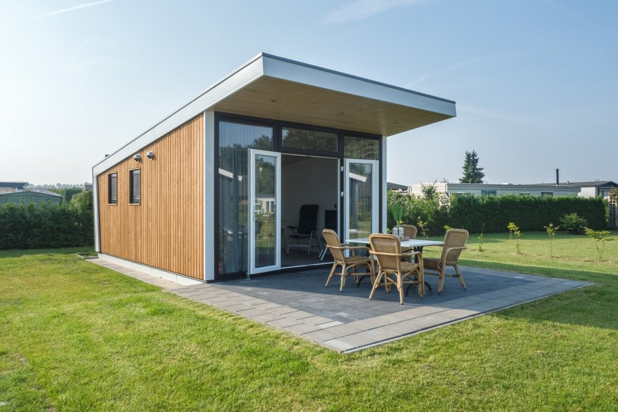 Camping Lunteren beschikt over Tiny Houses